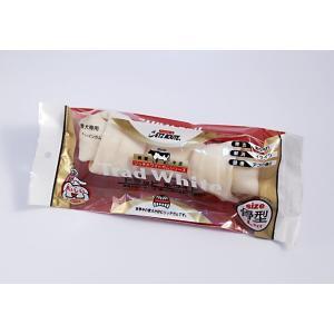 良質牛皮トラッドホワイトガムL|degumanet