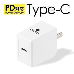 USB Type-C AC アダプター 急速充電 USB充電器パワーデリバリー18W搭載 最新スマホ...