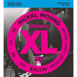 DAddario EXL170 Long Scale 45-100 ダダリオ ベース弦|dejikura