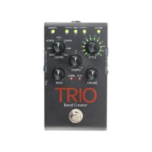 DigiTech TRIO Band Creator デジテック ベース・ドラムパート自動生成ギターペダル|dejikura