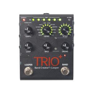 DigiTech TRIO+(トリオ・プラス)デジテック ベース・ドラムパート自動生成ギターペダル|dejikura