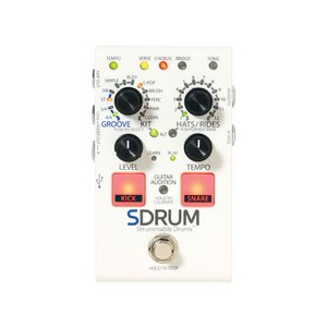 (納期未定)Digitech SDRUM (Strummable Drums) インテリジェント・ドラムマシン(正規国内品)|dejikura