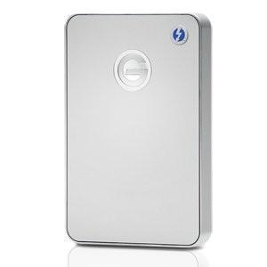 【お取り寄せ:通常納期1週間~10日位】HGST G-DRIVE mobile Thunderbolt USB 3.0 1000GB Silver JP G-Technology Silver (型番:0G03043)|dejikura