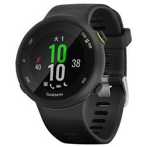 ●ForeAthlete 45 は手首で心拍数を計測し、GPSを使ってペースや距離などのデータを追跡...