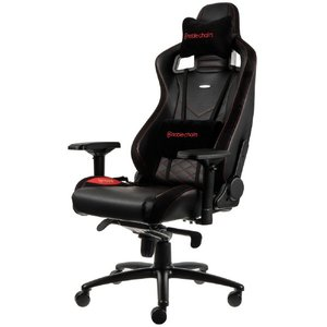 noblechairs NBL-PU-RED-003 ゲーミングチェア noblechairs EPIC レッド [NBLPURED003]|dejikura