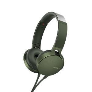 SONY MDR-XB550AP-G ステレオヘッドホン MDRXB550APG|dejikura
