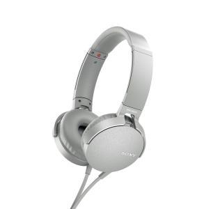 SONY MDR-XB550AP-W ステレオヘッドホン MDRXB550APW|dejikura