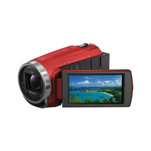 SONY  HDR-CX680 R  レッド 64GB内蔵メモリー デジタルHDビデオカメラレコーダ...