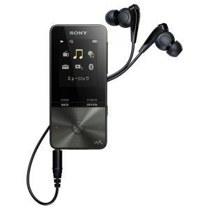 (納期目安3週間〜)SONY NW-S315-B ブラック 16GB ソニー ウォークマン イヤホン付属 Bluetooth対応  NWS315B|dejikura