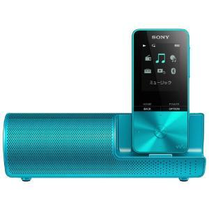 (納期目安3週間〜)SONY NW-S313K-L ブルー 4GB ソニー ウォークマン イヤホン/スピーカー付属 Bluetooth対応 (NWS313KL)|dejikura