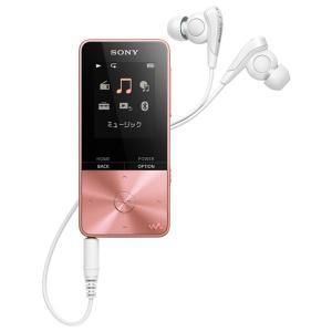 (納期目安1ヶ月〜)SONY NW-S313-PI ライトピンク 4GB ソニー ウォークマン イヤホン付属 Bluetooth対応 NWS313PI|dejikura