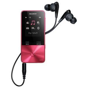 (納期目安3週間〜)SONY NW-S315-P ビビッドピンク 16GB ソニー ウォークマン イヤホン付属 Bluetooth対応  NWS315P|dejikura