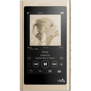 (納期目安2週間〜)SONY NW-A55 N デジタルオーディオプレイヤー(16GB) ウォークマン Aシリーズ ペールゴールド NWA55N|dejikura