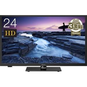 ハイセンス 24V型ハイビジョン液晶テレビ 24A50 *メーカー保証3年(物流在庫あり) dejikura