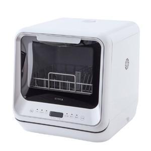 シロカ 食器洗い乾燥機 SS-M151 ホワイト/シルバー SSM151 ※延長保証加入対象外となり...