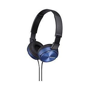 ソニー(SONY)ダイナミック密閉型ヘッドホン MDR-ZX310-L (ブルー)|dejikura