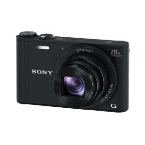 (納期目安3週間〜)SONY DSC-WX350-B(ブラック) ソニー デジタルカメラ Cyber-shot(サイバーショット) DSCWX350B|dejikura