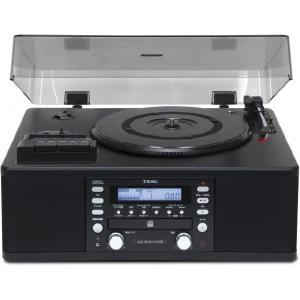 TEAC LP-R550USB-B ティアック CDレコーダー ターンテーブル/カセットプレーヤー付|dejikura