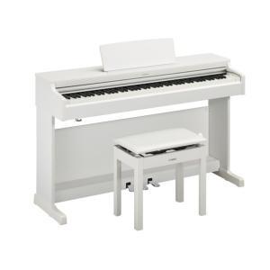ヤマハ YDP-164WH 電子ピアノ ARIUS ホワイトウッド調仕上げ (YDP164WH)(エリア内標準設置無料)|dejikura