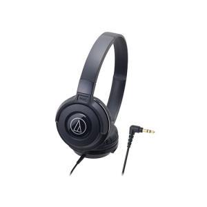 オーディオテクニカ (audio-technica)ポータブルヘッドホン ATH-S100 BK(ブ...