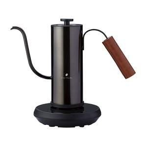 アピックス 温度調節機能付き電気カフェケトル(0.4L) FSKK-0929(BM) ブラックメタル FSKK0929BM|dejikura