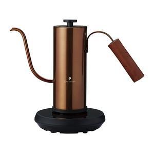 アピックス 温度調節機能付き電気カフェケトル(0.4L) FSKK-0929(CP) カッパー FSKK0929CP|dejikura