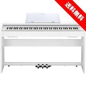CASIO PX-770WE カシオ デジタルピアノ(プリヴィア Privia) 電子ピアノ PX770WE ホワイトウッド調*お届けは玄関前までになります。