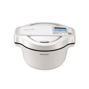(納期目安1ヶ月〜)シャープ 水なし自動調理鍋 ヘルシオ ホットクック  KNHW16EW ホワイト