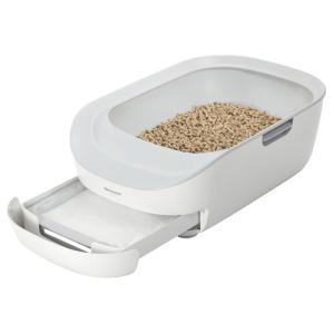 シャープ 猫用システムトイレ型 ペットケアモニター HNPC001W ホワイトの画像