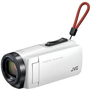 JVC KENWOOD JVC  GZ-F270-W ホワイト ビデオカメラ Everio 耐衝撃 耐低温 32GB  GZF270W|dejikura