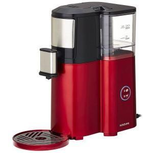 (お取り寄せ)KOIZUMI 全自動コーヒーメーカー KKM-1001/R レッド 小泉 KKM-1001R|dejikura