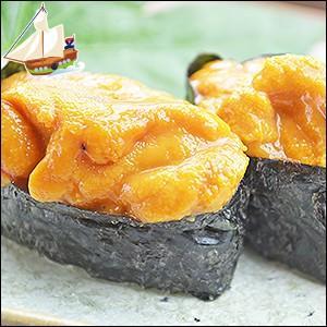 うに 雲丹 ウニ 回転寿司 完全無添加!天然ウニ100g ミョウバン不使用 アルコール不使用 無着色 無香料 冷凍|dejimaya-netstore|04