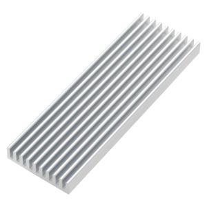 【商品説明】  M.2 SSDのチップに貼り付けて使用します。  熱暴走対策に最適  M.2拡張カー...