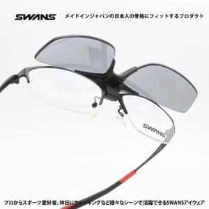 SWANS スワンズ SWF900-0000CP MBK 度付き対応跳ね上げ式サングラス マットブラ...