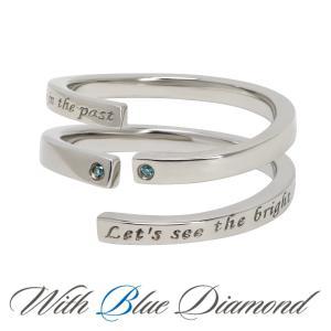 ペアリング ダイヤモンド ステンレス シンプル セット 指輪|delacruz