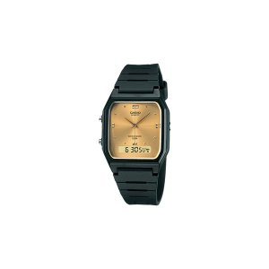 送料無料 CASIO カシオ AW-48HE-9AVDF チープカシオ 腕時計 メンズ レディース チプカシ ゴールド デジアナ アナデジ|delacruz
