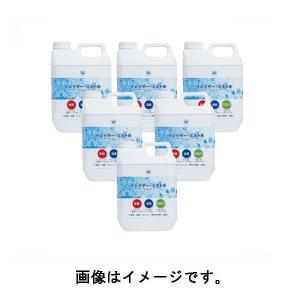 次亜塩素酸水【メーカー直送品】 イレイザー・ミスト用 ミスト水 (2L×6本セット)|deli-pa