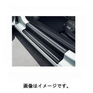 フォルクスワーゲン(VW) 純正 ドアシルプロテクションフィルム ブラック/シルバー ゴルフ7 5G0071310A19A|deli-pa
