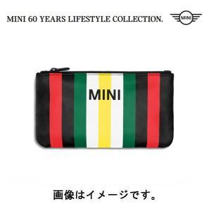 BMW MINI(ミニ) 純正 MINIストライプ・ポーチ マルチカラー 80212463258 deli-pa