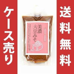 美濃大豆みそ 1ケース(450g×15本) 送料無料(沖縄・離島を除く)|delica-netclub