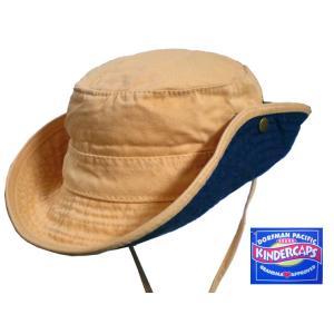 メール便 ドーフマン カインダーキャップ C868 Dorfman Pacific KINDERCAPS スカラで有名な帽子ブランド キッズサイズ ハット サファリハット|delicious-y