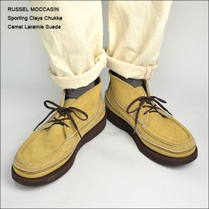 RUSSELL MOCCASIN(ラッセルモカシン)S200-27W SPORTING CLAYS CHUKKACAMEL LARAMIE SUEDE|delicious-y