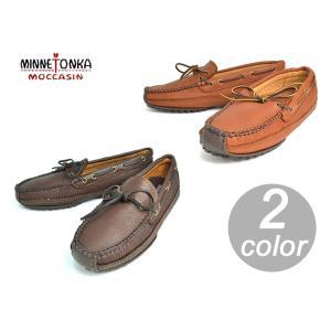 MINNETONKA/ミネトンカ メンズMOOSEHIDE WEEKEND MOCムースハイド ウィークエンド モック752/CHOCOLATE MOOSE758/CARMEL MOOSEメンズ/靴 delicious-y