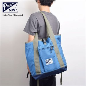 PACK NORTHWEST PACK NW パックノースウエスト Hobo Tote Convertible Tote Backpack ホーボートート バックパック Royal Midnight|delicious-y
