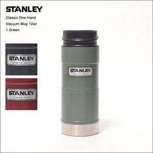 STANLEY スタンレー Classic ONE HAND VACUUM MUG 12oz クラシック ワンハンド バキューム マグ 水筒 ステンレスボトル 真空 0.35L 保温 保冷