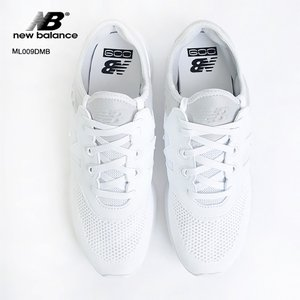 NEW BALANCE ニューバランス ML009DMB White Engineered Knit/Synthetic ホワイト Dワイズ メンズ スニーカー SM'17|delicious-y