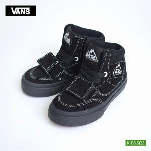 VANS KIDS バンズ キッズ VN0A3DQJ6D3 MOUNTAIN EDITION Suede  Black/Black マウンテンエディション スエード ブラック 子供 スニーカー|delicious-y