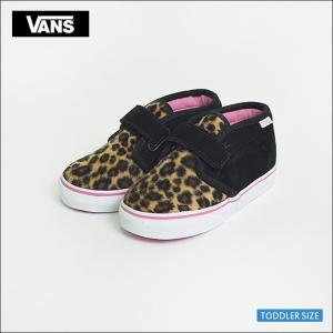 VANS TODDLER バンズ トドラー VN-0OKT8AQ Chukka V Leopard チャッカ レオパード 幼児用スニーカー delicious-y