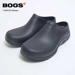 BOGS ボグス【71824-001】STEWART スチュワート BLACK ブラック クロッグ サボ サンダル メンズ|delicious-y