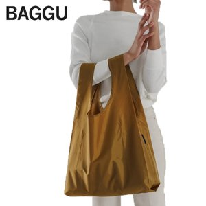 メール便 BAGGU バッグ STANDARD スタンダード BRONZE ブロンズ エコバッグ ナイロンバッグ ショッピングバッグ トートバッグ delicious-y